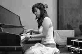 Student Playing Piano